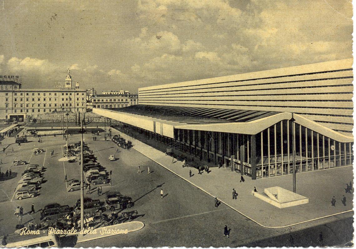 Cartoline piazze roma for Affitto ufficio roma stazione termini